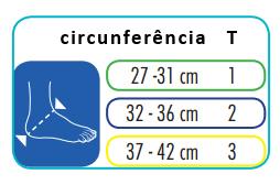 medivaris - calcanheiras CARE PROTECT PEDI - tamanhos
