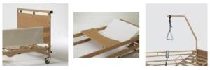 ayudas dinamicas - cama ALURA XL - acessórios